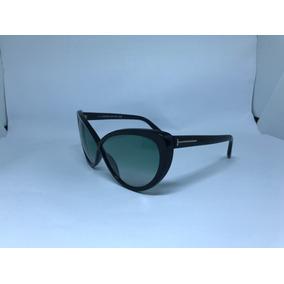 Oculos De Sol Grife Tom Ford Modelo Madison Preto