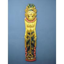 Escultura De Madera Tallada-diosa Antigua Del Amor Adornos