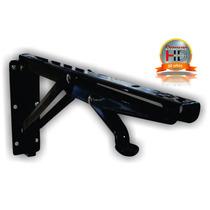 Mensula Para Mesa Plegable Negro 40kg (x2 Pares)