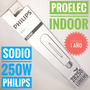 Lampara Sodio 250w E-40 Philips Son T Proelec Indoor