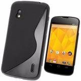 Capa Tpu S-type + Película Lg Nexus 4 E960