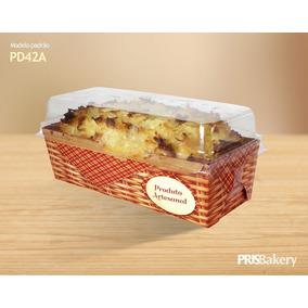 Forma Cake Com Tampa Forneável Bolo Inglês Com 20 Unidades