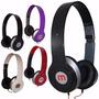 Fone Ouvido Mex Mix Beats Style Headphone Notebook Tablet