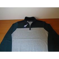 Sueter Nautica (half Zip Sweater) Talla Chica 100% Original