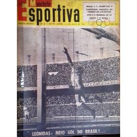 Manchete Esportiva N 34 De 14 De Julho De 1956