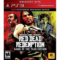 Ps3 - Red Dead Redemption Game Of The Year Edition - Midia