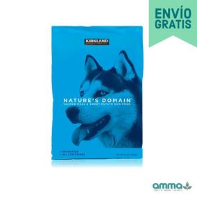 Alimento Para Perro Salmón Y Camote 15.87kg Kirkland