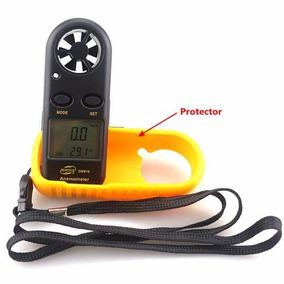 Anemómetro Medidor Velocidad Temperatura Del Viento