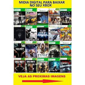 Jogos De Xbox 360 Midia Digital Original - Leia A Descrição