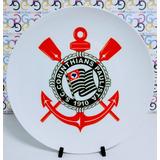 Prato De Porcelana Personalizado Corinthians