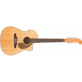 Guitarra Electroacustica Fender Villager Sce 12 Cuerdas Nat