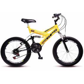 Bicicleta Colli Fulls Gps Aro 20 Dupla Suspensão 21m 310.01