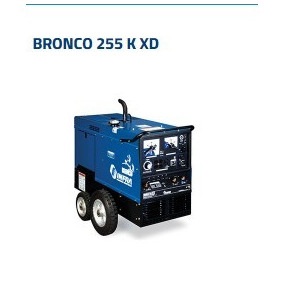 Maquina P/soldar Bronco 255kxd Infra 3646 Meses S/intereses!