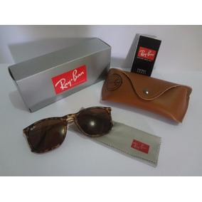 Óculos De Sol Ray Ban Chris Rb 4187l+brinde 1 Relogio Casual 8fd71ccdf0