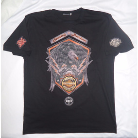 Camisa Blusa Camiseta Harley Davidson Eagle Motor Skull