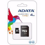 Memoria Micro Sd Hc Card 4gb Adata Clase 4 Celular Jxr