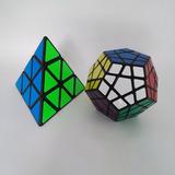 Combo Cubos Rubik Pyraminx Y Megaminx Shengshou Speed Set 2