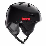 Casco Bern New 2017 Macom Team Skate Snow Bici Orejeras