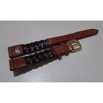 Pulseira 12mm Couro Relógios - Seiko Casio Dk Fossil Ea