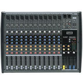 Mesa Som 12 Canais - Mark Áudio Cmx 12 Usb O F E R T A
