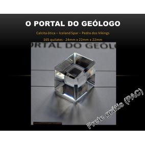 Calcita Ótica Puríssima - Transparência Extra 165 Quilates