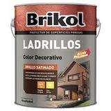 Brikol Ladrillos Protector Imper. X 4lts. Ceramico+pincelº10