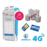 Mercadopago Point Smart 4g Impresora Posnet Qr Tactil Nuevo