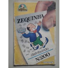 Album De Figurinhas Zequinha Num 200 Ano 1979