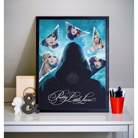 Quadro Pretty Little Liars (30x40cm)