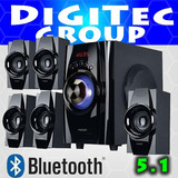 Parlante Home Theater 5.1 Bluetooth Usb Noga Niza - Cordoba