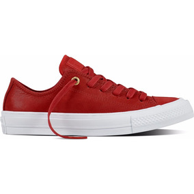 Zapatillas Converse Chuck Taylor 2 Ox Leather Red #555957c