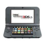 Consola Nintendo 3ds Xl Negra Portátil
