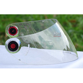 Viseira Cristal Shark S650 S700 S800 S900 Openline + Botões