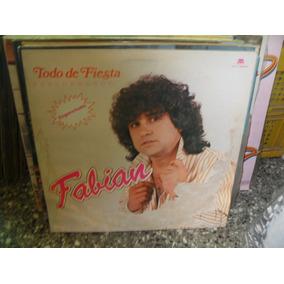 Fabian Todo De Fiesta Enganchado Lp Vinilo Promo Cumbia 86
