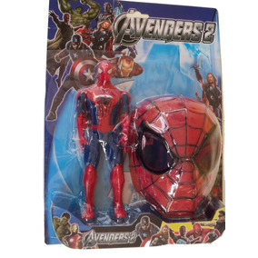 Super Heróis Marvel, Boneco Homem Aranhã + Máscara