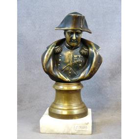 Busto De Napoleón Bonaparte Antiguo Hecho De Bronce