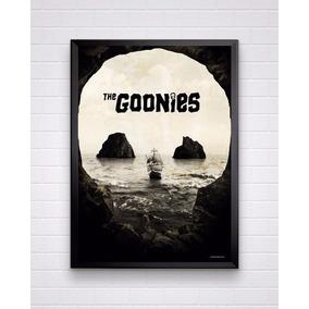 Poster Do Filme Goonies Tamanho A3 Com Moldura