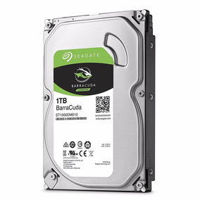 Disco Hdd Seagate Barracuda 1tb 64mb 7200rpm Sata 3