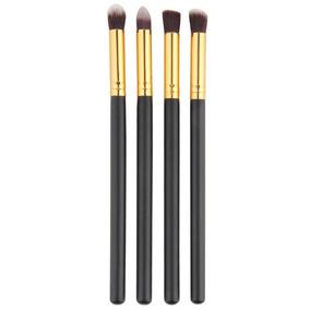 Pincel Kabuki Duo Fiber Kit Com 4 Pinceis
