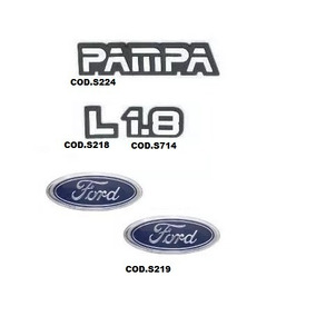 Kit Emblemas Pampa L 1.8
