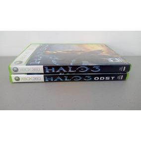 Halo 3 + Halo 3 Odst Xbox 360 - Paquete De 2 Juegos
