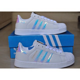 Zapatillas adidas Superstar Tornasol Para Damas