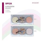 Paleta De Iluminador Galax Sp Colors Cores A E B Alucinante.