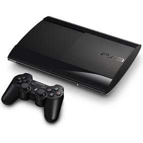 Consola Ps3 Ultra Slim 500 Gb Con 2 Joysticks 100% Nueva !!!