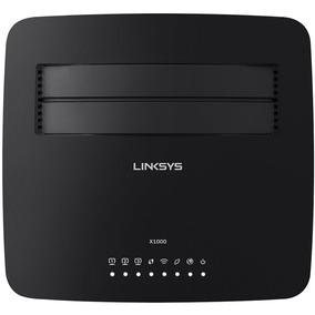 Roteador Linksys Wireless X1000 N300 Modem Adsl2+