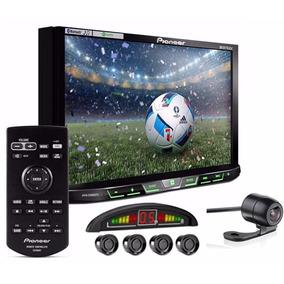 Central Multimídia Dvd Pioneer Câmera Ré E Sensor + Moldura