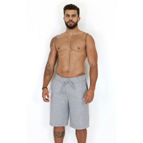 Bermuda Moletom Masculina Academia Shorts Atacado Moleton
