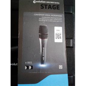 Sennheiser E865 En Caja - Microfono De Mano