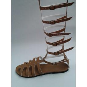 Sandália Do 40 Ao 49 Numero Grande Rasteirinha Gladiadora