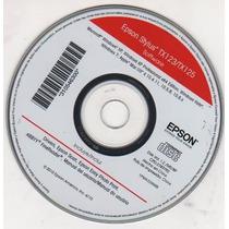 Cd De Instalação Para Impressora Epsom Tx123-125